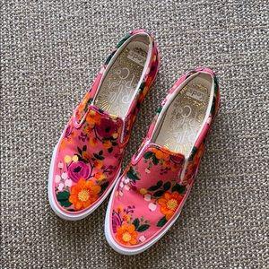 Keds Rifle Paper Co floral shoes